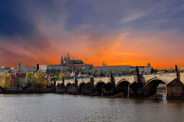 Prague's celebrated St. Charles Bridge, by Max aka Max Tim Tom on Flickr.