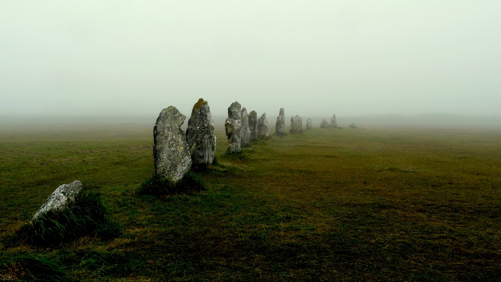 Megolithic stones of Camaret, France, in Brittany, where I hope to spend 4-6 weeks. By y.caradec.